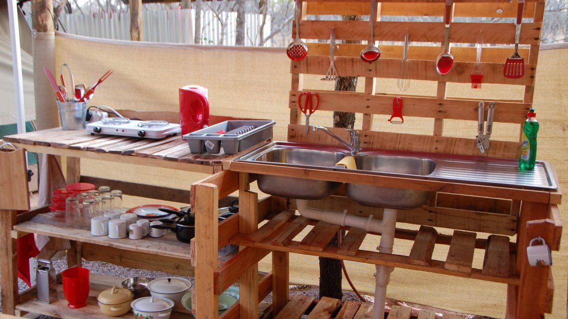 Kitchen - Bush Tent
