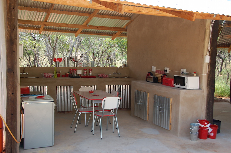 Communal Kitchen - Bush camp